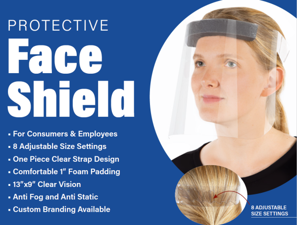 Now Taking Pre-Orders for Face Shields