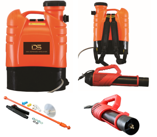 Take Back Control of Your Business! Backpack Sprayers for Disinfecting.