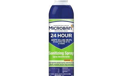 Microban 24 Disinfectant Spray Now In Stock! – $12.95.