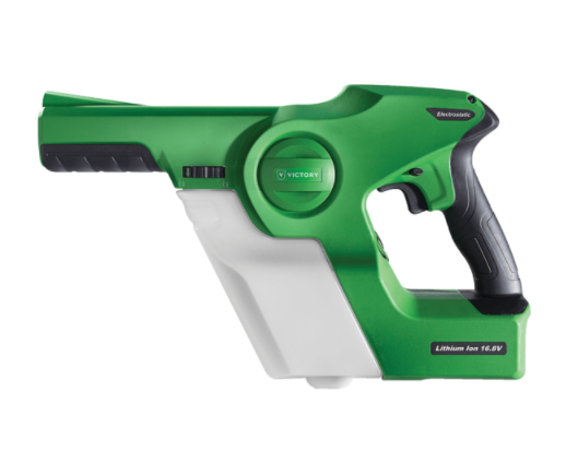 Victory Handheld Cordless Electrostatic Sprayers in stock – $999.99.
